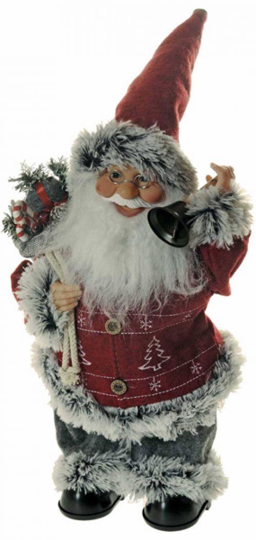 Babbo Natale Musicale.Babbo Natale Con Campanella